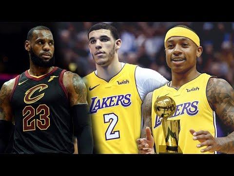 Lonzo Ball VS LeBron James! Isaiah Thomas GOES OFF Against His FORMER TEAM! Lakers vs Cavs!