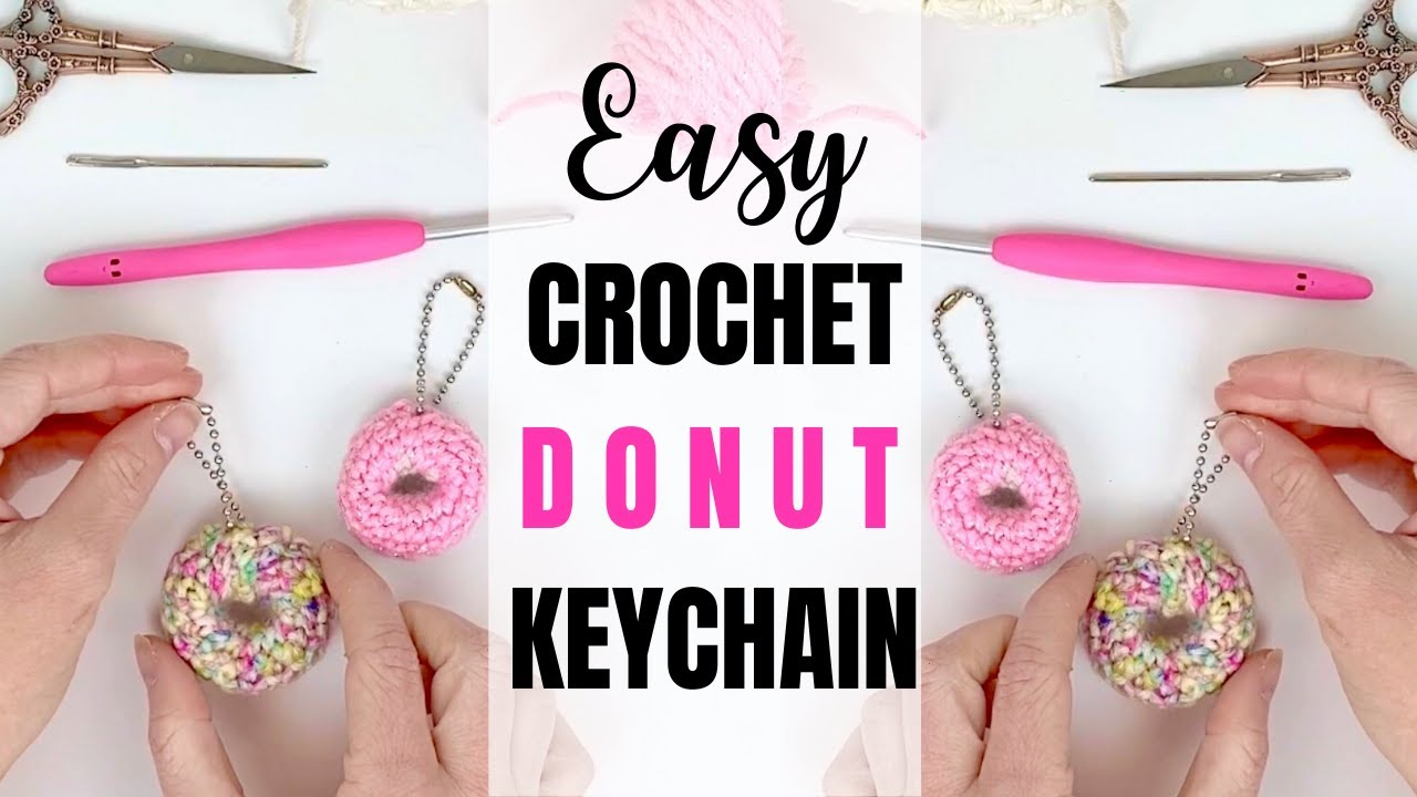 Amigurumi donut toy Crochet little donut keychain Bag charm | Etsy ... | 720x1280