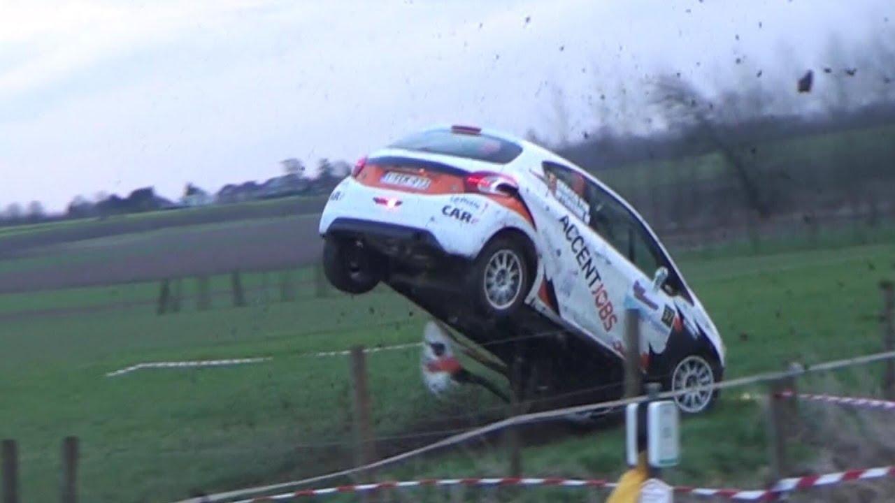 Rally van haspengouw 2014 crashes mistakes
