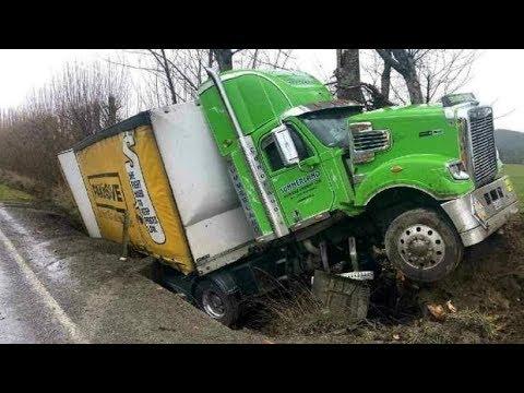 TRUCK CRASH COMPILATION 2018 | FailArmy Crashes