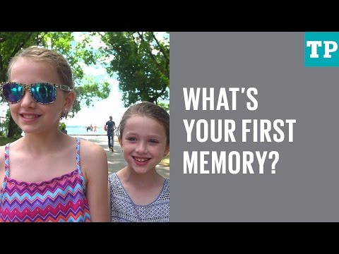 Kid Talk: The very first thing I remember