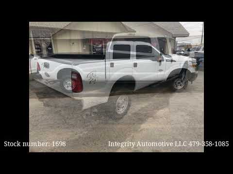 2016 White Ford F-350 SD XL Crew Cab Long Bed 4WD - Bethel Heights, AR 72764 - Used Cars
