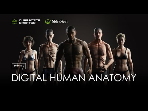 Ultimate Digital Human is Here - Character Creator 3.3,  SkinGen & CC3 Base+ (Teaser)