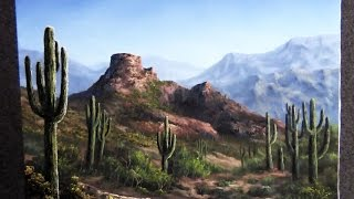 Paint with Kevin Hill - Desert View