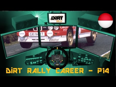 DiRT Rally Career - Part 14 (BMW E30 M3 at Monaco)