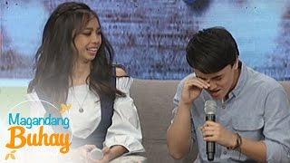 Magandang Buhay Maymay and Edward imitate each other