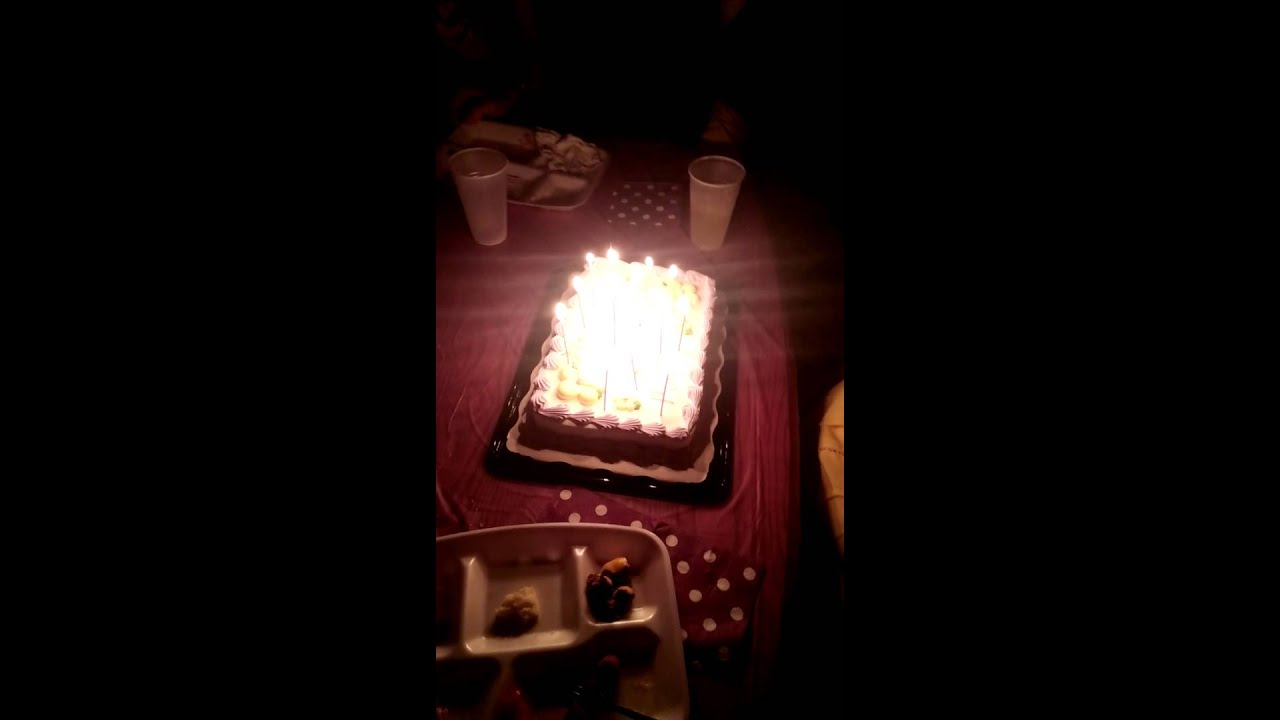 Happy Birthday Mamaw Sparkler Candles