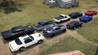 Forza Horizon 3 | Muscle Car Shootout | '13 GT500, '64 Impala, '77 Trans Am & More