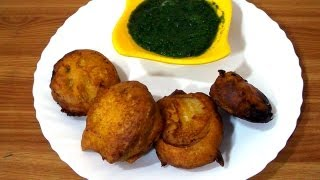 Capsicum Chop Recipe - Calcutta Street Food Recipe | Indian Bengali Appetizer Recipe