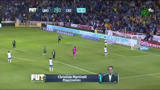 CRUZ AZUL VS QUERETARO 2-4 Apertura 2015 J6