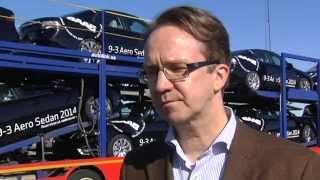 Första SAAB-bilarna från NEVS i dag