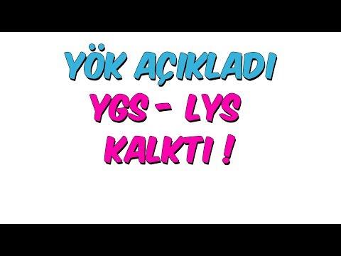 YÖK Açıkladı, YGS - LYS Kalktı!