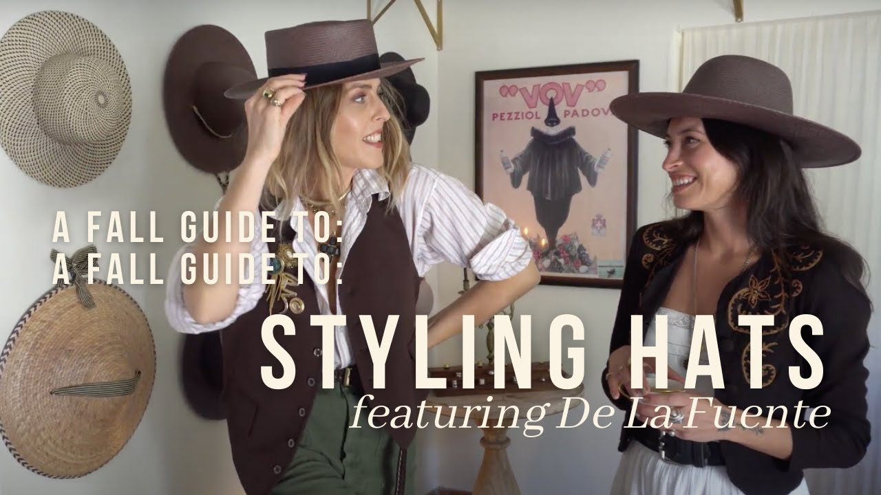 Download STYLING HATS FOR FALL featuring Kara of De La Fuente/ FALL OUTFIT IDEAS 2021