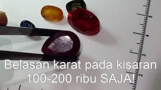 Perbandingan Safir Ruby Mahal Murah