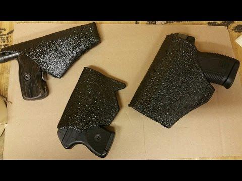 Homemade gun holster Inside waistband