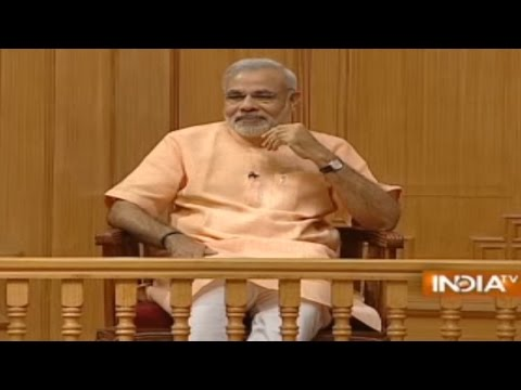 Gujarat CM Narendra Modi In Aap Ki Adalat ( Full Episode) - India TV
