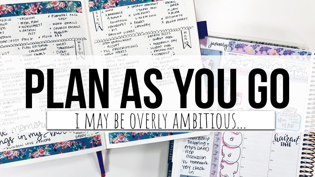 Plan with me plan as you go weekly bujo setup youtube plan with me plan as you go weekly bujo setup 1betcityfo Images