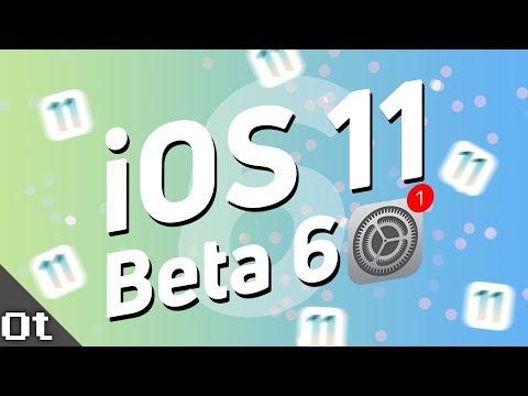 iOS 11 Beta 6 — ЧТО НОВОГО? Повысили скорость и освежили иконки!
