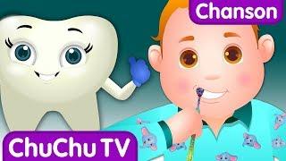 Chanson Brossetes dents | Bonnes habitudes comptines pour enfants | ChuChuTV