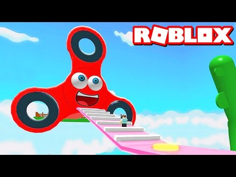 Thumbnail: ESCAPE THE FIDGET SPINNER OBBY IN ROBLOX