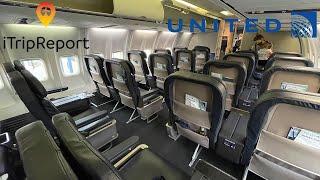 United 757-300 First Class Trip Report screenshot 4