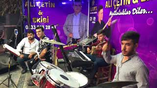 Ali çetin & ekibi - Bateri ile fate fate ve bağlama show