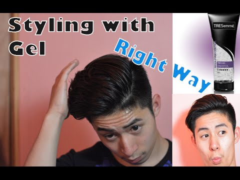 How To Use Hair Styling Gel The Right Way To Use Hair Gel  How To Use Hair Gel  How To Apply .
