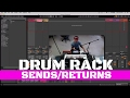 Send return effects in ableton live drum rack mp3