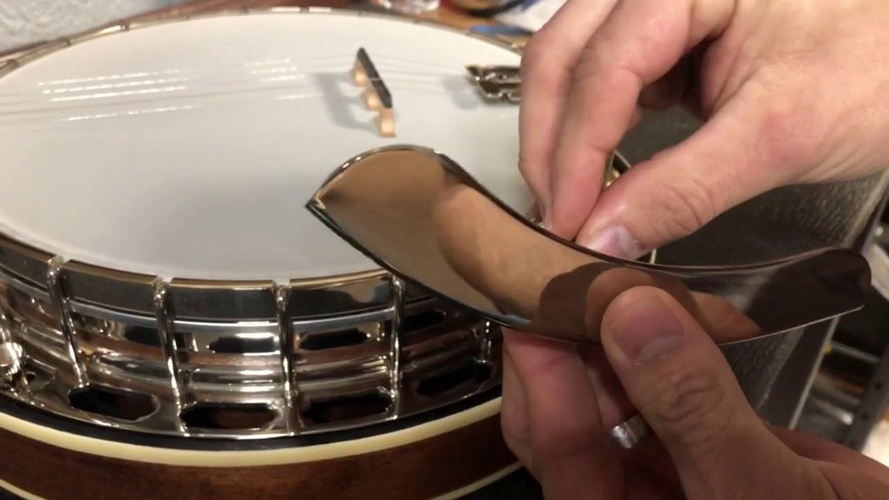 Tech Tip: How to Install Bluegrass Banjo Armrest