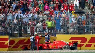 """Vettel dopo l'incidente: """"Sorry guys..."""""""