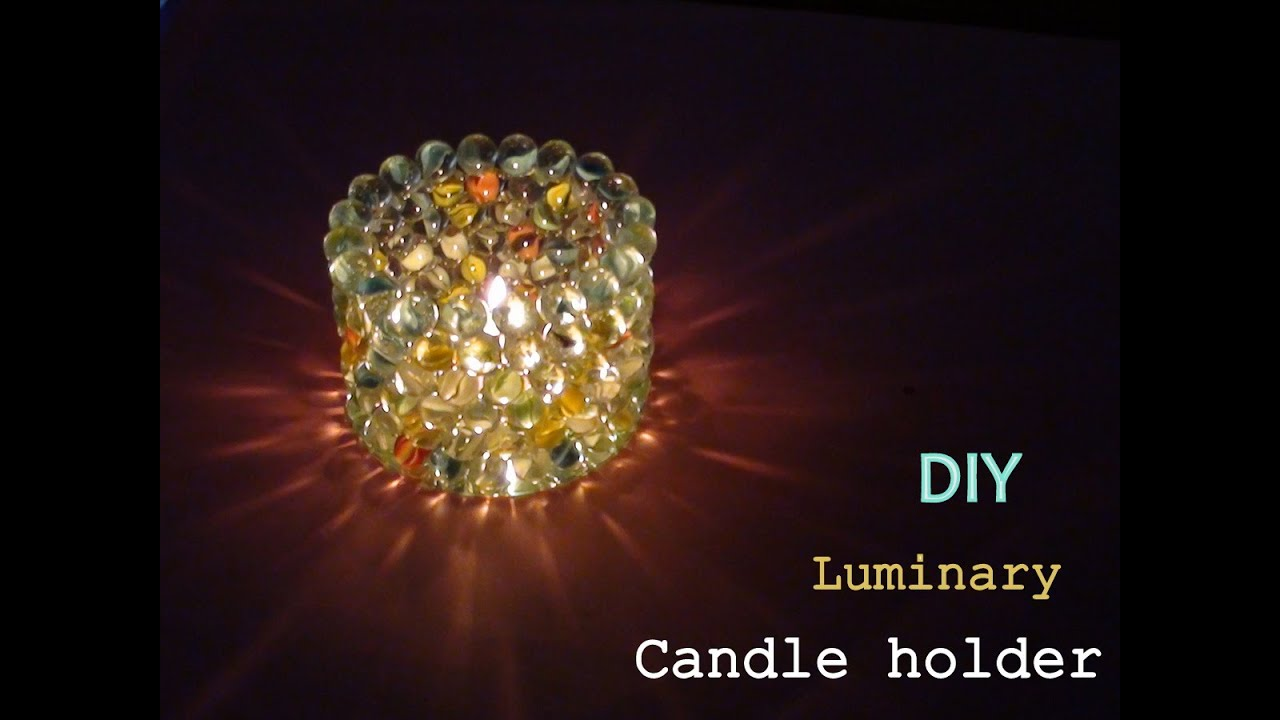 Diy luminary candle holder youtube solutioingenieria Image collections