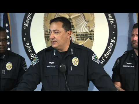 Chief Art Acevedo and APD's reaction to Ferguson