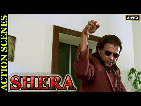 Shera Movie Zabardast Action Scenes | Mithun Chakraborty |