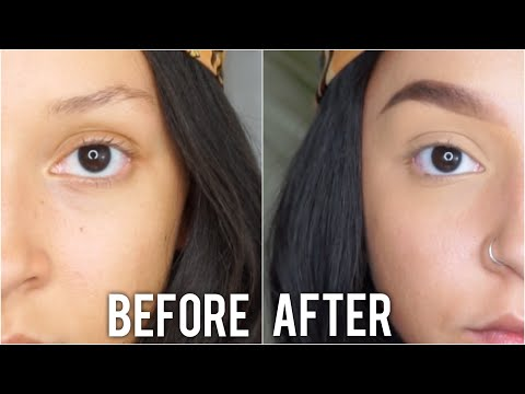 UPDATED! | Brow Tutorial for Thin Brows 2019 thumbnail