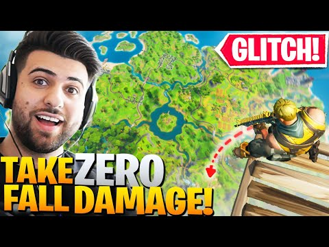 Epic ACCIDENTALLY Brought Back This ZERO Fall Damage Glitch! (Fortnite Battle Royale)