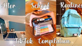 After School Routines| TikTok Compilation
