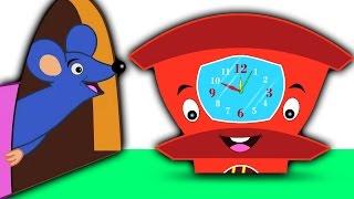 dickory muelle de nogal | dibujos animados para los niños | rima popular de vivero | Compilación