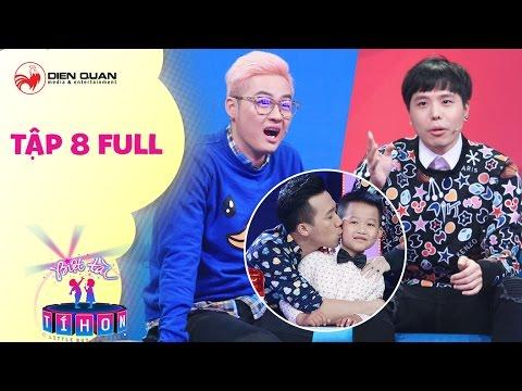 Biệt tài tí hon   tập 8 full hd: Thanh Duy, Trịnh Thăng Bình bái phục cậu bé làm toán bằng tiếng Anh