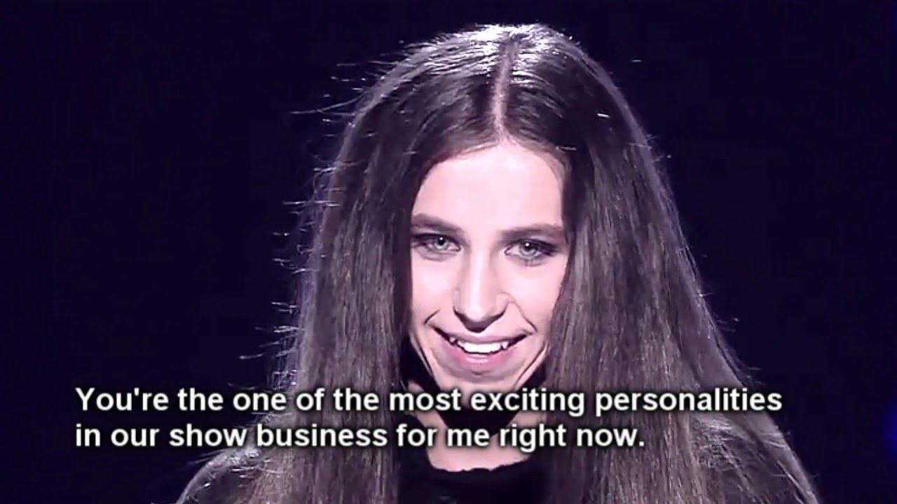 (Eurovision, Poland) Journey of Michał Szpak on X factor (eng sub) - YouTube