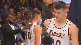 LeBron James Gives Ivica Zubac His Respect After Carrying Lakers! Lakers vs Suns