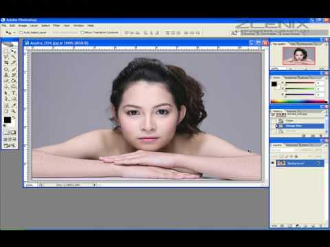 Thai Language Photoshop Tutorial : How to make SOFTON