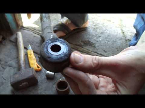 Замена сайлент блоков рулевых тяг на Opel Vectra A от Ваз 2110