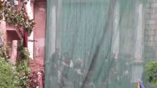 Maisie Williams Duble perform some amazing stunts (Got season 6 Girona shooting)