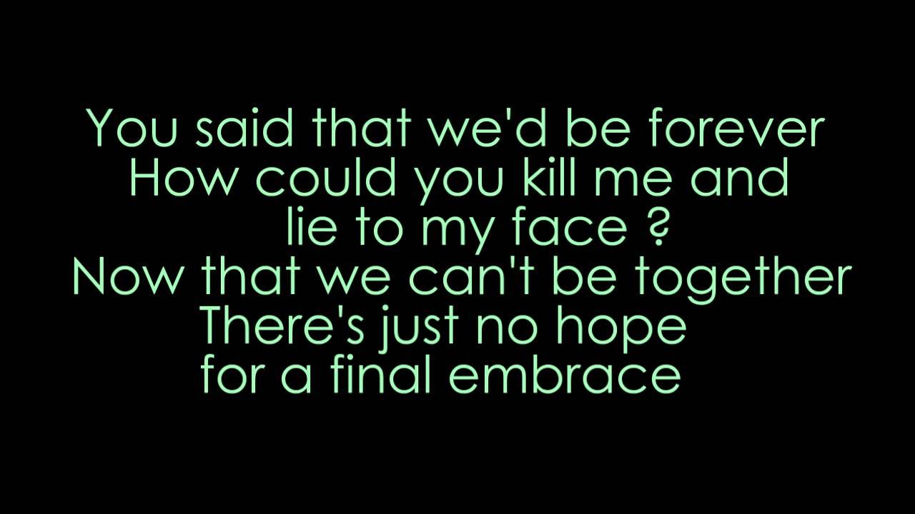 Fesselnd Bullet For My Valentine   Your Betrayal (lyrics + HD)