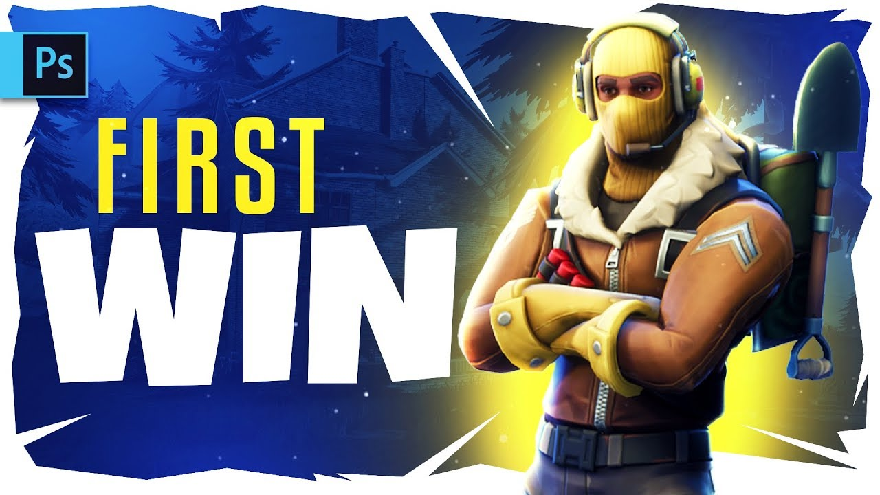 How To Make A Fortnite Thumbnail With Free Template