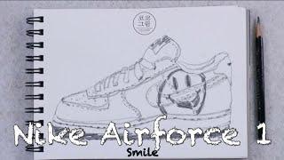 나이키 에오포스 1 스마일스우시 / Nike airfo…