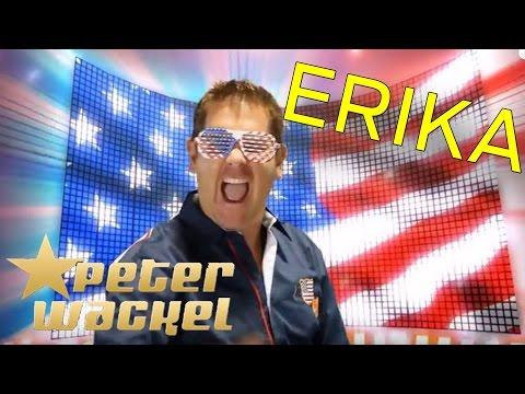 Peter Wackel - ERIKA (komm mit mir nach Amerika)
