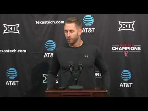 Texas Tech Weekly Press Conference - TCU