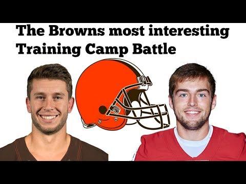 The Browns most Interesting Training Camp Battle | Austin Seibert VS Greg Joseph