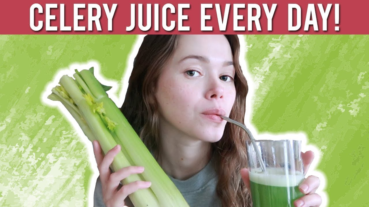 Celery Juice Every Day Will Do This To Your Body